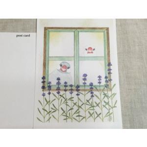 【文鳥院まめぞう】ポストカード『再会するためのお別れ』|kotoricafe