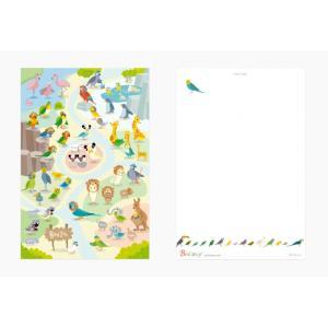 【BIRDSTORY】ポストカード ★BIRDZOO kotoricafe