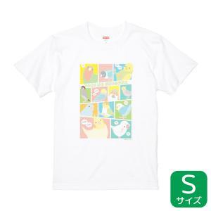 【BIRDSTORY】TORINOSHIGUSA Tシャツ カラー Sサイズ|kotoricafe