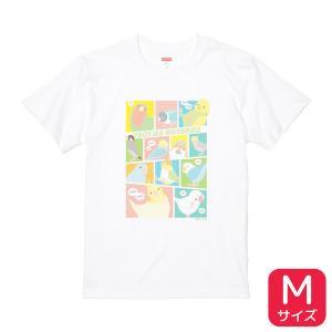 【BIRDSTORY】TORINOSHIGUSA Tシャツ カラー Mサイズ|kotoricafe