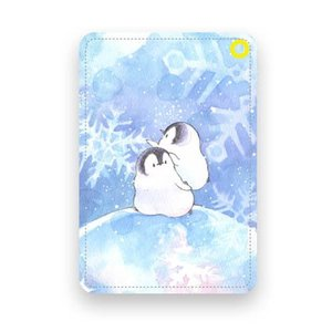 【もこぺん】パスケース ★銀河雪|kotoricafe