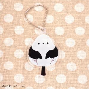 【ぴよ手帖】アクリルキーホルダー ★頭ぷらーん kotoricafe