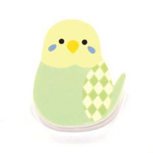 インコクリップ ★セキセイインコ(グリーン)|kotoricafe