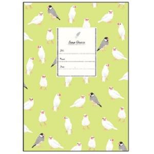 【Beaux Oiseaux/オリエンタルベリー】A5ノート ★文鳥 kotoricafe