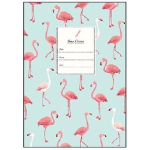 【Beaux Oiseaux/オリエンタルベリー】A5ノート ★フラミンゴ kotoricafe