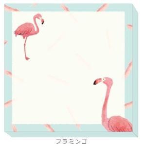 在庫限り★【Beaux Oiseaux/オリエンタルベリー】スクエアふせん ★フラミンゴ kotoricafe
