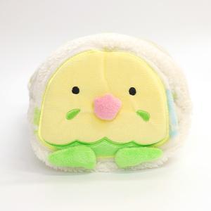 【フレンズヒル】ぬいぐるみブランケット セキセイ チッチ グリーン GR|kotoricafe