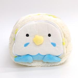 【フレンズヒル】ぬいぐるみブランケット セキセイ チッチ ブルー BL|kotoricafe