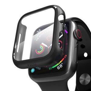 Apple Watch Series4/Series5 40mm アップルウォッチ4/5/6 カバーフィルム PET 超薄型 全面保護 耐衝撃 PC  対応 (40mm, ブラック含有フィルム ) kotoshopping