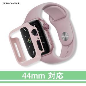 Apple Watch Series4/Series5/6 44mm アップルウォッチ5  カバー PET 超薄型 全面保護 耐衝撃 PC 対応 (44mm, ピンク) kotoshopping