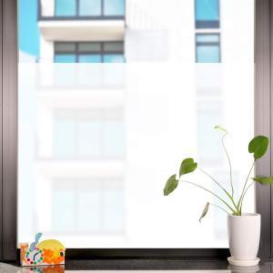 窓ガラス フィルム ガラス目隠しシート UVカット 飛散防止 すりガラス調 ホワイト 90x250cm 2D 窓飾りフィルム SV016 kotoshopping