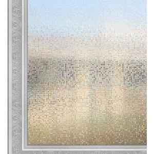 窓用フィルム ガラス目隠しシート UVカット 飛散防止 小モザイク 90x250cm 3D 窓飾りフィルム SV020-L004 kotoshopping