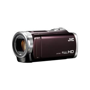 JVC JVCケンウッド ビデオカメラ Everio GZ-E400-T 32GB 60倍ズーム S...