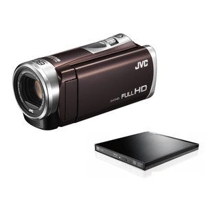 JVC JVCケンウッド ビデオカメラ Everio GZ-E400 32GB 60倍ズーム BDラ...