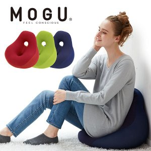 MOGU ビーズクッション ソファ パウダービーズ 座椅子 一人掛け 腰痛 ギフト モグ シットジョ...