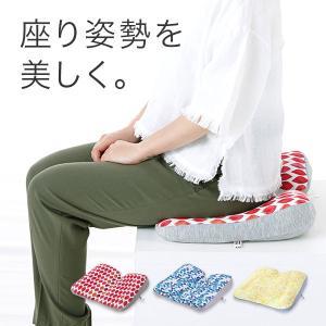 腰痛 クッション 骨盤クッション 姿勢矯正 骨盤矯正 座布団 ジムファブ JIMU fab 美姿勢サポートクッション|kotubanshop