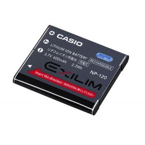 CASIO カシオ リチウムイオン充電池 NP-120 純正   送料無料 NP120カメラバッテリー kou511125