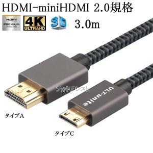 SONY ソニー対応  HDMI ケーブル HDMI (Aタイプ)-ミニHDMI端子(Cタイプ) 2...
