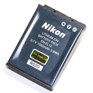 Nikon ニコン  EN-EL12 純正  S8200などに 送料無料【メール便の場合】   ENEL12カメラバッテリー 充電池