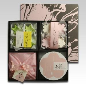味わいゆたかな桜の和菓子を4種詰め合わせいたしました。美しい日本の春を大切な方への贈り物としてご利用...