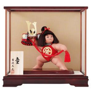ご存じの金太郎飾り童心シリーズの、金太郎8号 「童」です。足柄山の金太郎は源頼光の四天王のひとり、坂...
