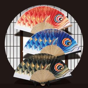 本鯉のぼり 京職人手作り京扇子 koubou-tensho