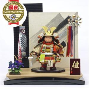 「五月人形 健ちゃんシリーズ・ミニ健ちゃん(大鎧着) お祝い飾り」は、その人形職人の一人、名匠・公司...