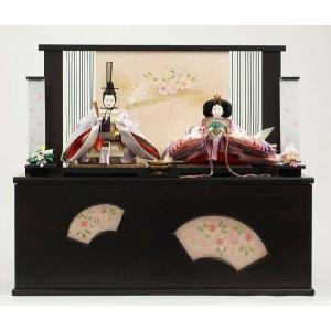 ひな人形 雛人形 名入れ木札 収納飾り 親王飾り