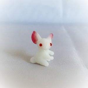 ガラス細工【ミニウサギ】|koubougiyaman2