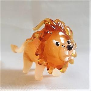 ガラス細工【ライオン】|koubougiyaman2