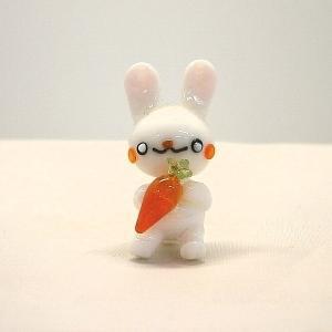 ガラス細工【ウサギ人参】|koubougiyaman2