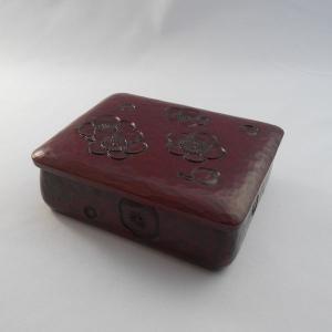 鎌倉彫 小箱 梅の散らし|koudou