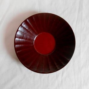 鎌倉彫 バラ売り茶托 平型 八方刀痕 (一枚売り)|koudou