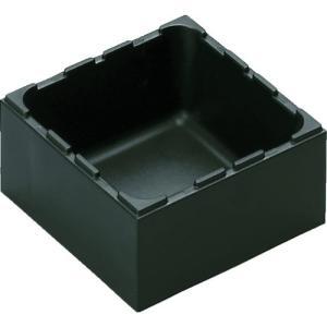 特長 汎用性のあるタイプです。 パーツ、部品の収納、保管に最適です。 ボックスの突起により積み重ね可...