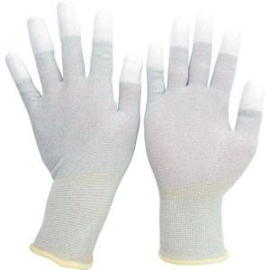 ミドリ安全 静電気拡散性手袋(指先コート)LL 10双入  MCG601N-LL 7186