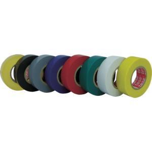 テサテープ 電気絶縁用ビニールテープ 19x10m グレー  4251-19X10-GY   429...