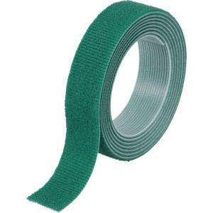 TRUSCO マジックバンド結束テープ 両面 20x1.5m 緑 MKT2015GN