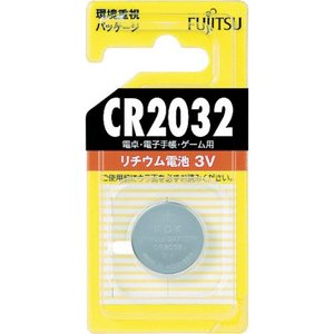 富士通 FDK 富士通 リチウムコイン電池 CR2032  CR2032C-B  1196