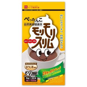 モリモリスリムほうじ茶風味  ハーブ健康本舗 10包 ダイエット食品 箱無し特価|koufukudoonline