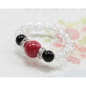 指輪 赤珊瑚 レッドコーラル オニキス 水晶 リング 指輪 ...