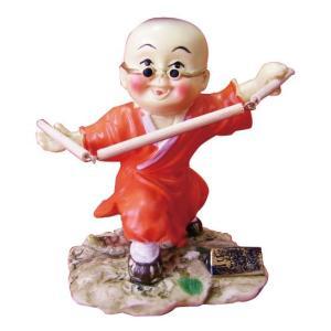 少林和尚人形 〜三節棍〜 kougabunkaten