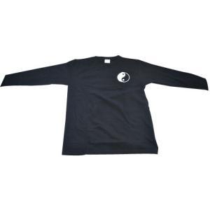 太極拳、武術、カンフー、Tシャツ、長袖 〜太極図〜|kougabunkaten