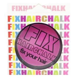 フィックス FIX ヘアチョーク ヘアーチョーク 髪色 1日ヘアカラー 1Day ネオンピンク 桃 イベント ハロウィン メンズ レディース|kougasyou