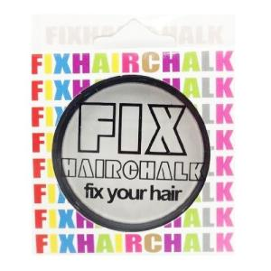 フィックス FIX ヘアチョーク ヘアーチョーク 髪色 1日ヘアカラー 1Day ホワイトライト 白 イベント ハロウィン メンズ レディース|kougasyou