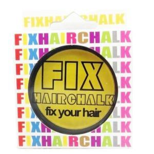 フィックス FIX ヘアチョーク ヘアーチョーク 髪色 1日ヘアカラー 1Day ネオンイエロー 黄 イベント ハロウィン メンズ レディース|kougasyou