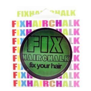 フィックス FIX ヘアチョーク ヘアーチョーク 髪色 1日ヘアカラー 1Day スプリンググラス 緑 イベント ハロウィン メンズ レディース|kougasyou