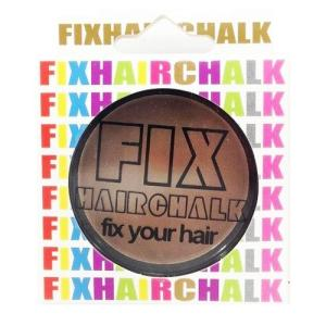 フィックス FIX ヘアチョーク ヘアーチョーク 髪色 1日ヘアカラー 1Day キャラメルポップ 茶 イベント ハロウィン メンズ レディース|kougasyou