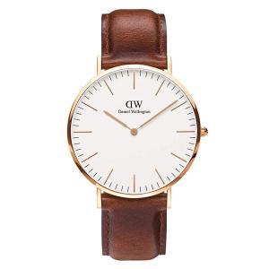 新品 2年保証 送料無料 40mm Daniel Wellington ダニエル ウェリントン 腕時計  クラシック セイント モーズ DW00100006 メンズ レディース kougasyou