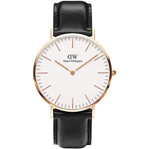 新品 2年保証 送料無料 40mm Daniel Wellington ダニエル ウェリントン 腕時計 クラシック シェフィールド DW00100007 DW00600007 メンズ kougasyou