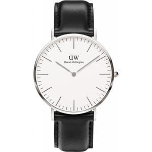 新品 2年保証 送料無料 40mm Daniel Wellington ダニエル ウェリントン 腕時計  クラシック シェフィールド DW00100020 メンズ レディース kougasyou